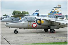 Blue J Saab 105 Austrian AF (SPRedSteve) Tags: saab 105 austrian radom airshow blue j