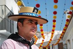 Benalmadena Feria August 2018 (I'mDKB) Tags: 1855mm 1855mmf3556 2018 august benalmadena feria nikond80 romany imdkb spain espana andalucia andalusia caballero virgendelacruz pueblo portrait retrato hat romeria festival