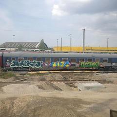 #stolenstuff #graffitiblog #check4stolen #flickr4stolen #graffititrain #benching #panels #graffiti #instagraff #trainbombing (stolenstuff) Tags: instagram stolenstuff graffiti graffititrain benching