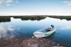 Lake Titicaca - Peru (Marconerix) Tags: puno peru titicaca lake lago viaggio trip high oxygen boat sky sunset southamerica