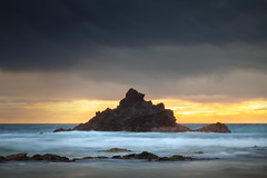 Morning Moods || NAROOMA || NSW (rhyspope) Tags: australia aussie nsw new south wales canon 5d mkii narooma coast eurobodalla beach water sea ocean waves rocks travel amazing explore rhys pope rhyspope sky clouds weather sunrise sunset marine