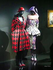 Dior at the Louvre (albyn.davis) Tags: fashion museum louvre paris colors exhibit dior red