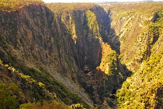 Wollomombi Falls and Gorge and Falls, Oxley Wild Rivers National Park, New South Wales, Australia