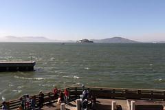 Alcatraz Island from Pier 39 (raffaele pagani) Tags: fishermanswharf sanfrancisco pier39 alcatraz leonimarini sealions zalophuscalifornianus california usa canon unitedstates otariadellacalifornia attrazioneturisticadisanfrancisco sanfranciscotouristattraction
