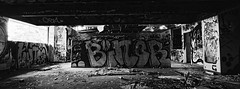 Take Me To The Top viii (@fotodudenz) Tags: hasselblad xpan film rangefinder 30mm ultra wide angle panorama panoramic 2018 35mm gold coast queensland australia nsw new south wales ilford xp2 super urbex abandoned urban exploration terranora lakes country club golf course