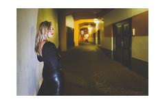 Film Noir XIX (Passie13(Ines van Megen-Thijssen)) Tags: kiki filmnoir portrait portret girl woman night street weert canon netherlands inesvanmegen inesvanmegenthijssen