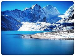 Good evening. (SHAN DUTTA) Tags: sikkim india blue lake