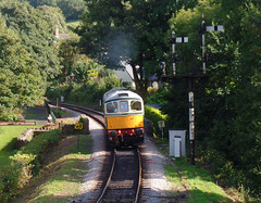 33002 Buckfastleigh (6) (Marky7890) Tags: d6501 33002 class33 diesellocomotive heritage buckfastleigh southdevonrailway devon train