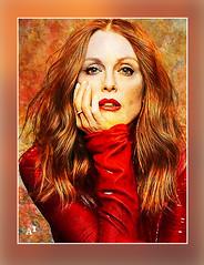 Julianne Moore (andrzejslupsk) Tags: juliannemoore woman portrait actress andrzej słupsk slupsk hollywood face movie art
