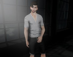 High Hopes (EnviouSLAY) Tags: modulus newreleases new releases fameshed stripes tee shorts black white clefdepeau clef de peau kalback tmd themensdepartment the mens department belleza bento lelutka monthlyevent monthlyfashion monthlyfair monthlymen mensmonthly mensfashion mensfair mensevent event fair fashion monthly pale male gay blogger secondlife second life photography letre