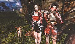 cool girls (imp朣) Tags: secondlife second life girl pose