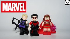 Wunderbar! (Random_Panda) Tags: lego figs fig figures figure minifigs minifig minifigures minifigure purist purists character characters comics superhero superheroes hero heroes super comic book books marvel avengers hawkeye toy