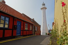 20180825 09 Bornholm - Rønne - Fyr (Lighthouse) (Sjaak Kempe) Tags: 2018 summer zomer august augustus sjaak kempe sony dschx60v danmark denmark denemarken bornholm rønne fyr lighthouse light tower vuurtoren leuchtturm