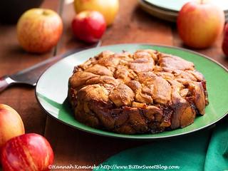 Apple Fritter Torte 1