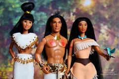 Pocahontas (Lindi Dragon) Tags: doll disney disneyprincess dolls pocahontas kocoum nakoma mattel