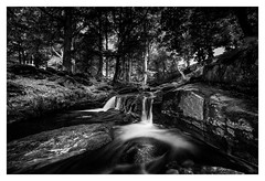 Wicklow Hill's (Minibert93) Tags: longexposure landscape water ireland wicklow canon river blackwhite littlestopper trees woods sallysgap