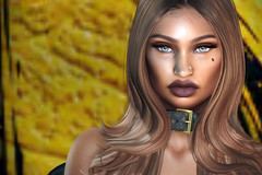 6.16 (Carley Benazzi) Tags: studioexposuremakeup shadows skin semakeup trèsbeau secondlife davidheather couture collabor88 chic catwa events ebony rowne hair haute accessories avatarswithanoseforattitude avatar jewelry new uber pose portrait