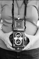 FPP Walking Workshop 2018 - YashicaMat LM (Austin Beeman) Tags: fppwalkingworkshop2018 2018 cameras cameraportrait filmphotographypodcaststorehandrolledfilm findlay canonrebel2000 ilforddelta400 canon50mmf18 blackwhitefilm