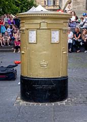 Chris Hoy Pillar Box - EH1 19 (Joe Son of the Rock) Tags: chrishoy sirchrishoy huntersquare edinburgh olympics olympicgames pillarbox goldpillarbox doublepillarbox doublegoldpillarbox golddoublepillarbox postbox ef1740mmf4lusm