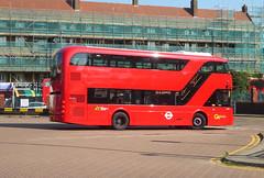 GAL VHP2 - BV18YAE - OSR - PECKHAM BUS STATION - THUR 6TH SEPT 2018 (Bexleybus) Tags: goahead go ahead london peckham south east wrightbus volvo vhp2 bv18yae tfl route 37 bus station b5lh electric new technology pantograph charging srm euro 6 hybrid