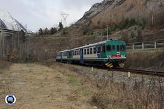 ALn 663-1002 (Treni In Foto) Tags: aln 663 treno regionale livrea xmpr linea ferroviaria aosta prè saint didier morgex