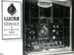 Window Display TT (British Motor Industry Heritage Trust Archive) Tags: bmiht britishmotormuseum lucascollection lucas history vintage archive