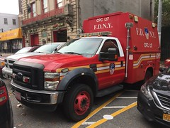 FDNY Chemical Protective Clothing Ladder 17 (Triborough) Tags: ny nyc newyork newyorkcity bronxcounty thebronx bronx motthaven fdny newyorkcityfiredepartment firetruck fireengine cpc cpcl17 ford fseries f450 knapheide