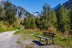Repos devant  la Grande Motte et ses 3 653 m d'altitude. (Savoie 09/2018) (gerardcarron) Tags: canon80d champagnyvanoise ete landscape montagne mountains nature paysage savoie summer