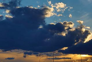 Early Autumn Sunset (早秋日暮)