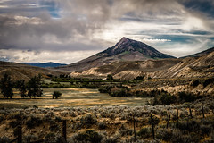 Slaughter Gultch, Kremmling, Colorado (paccode) Tags: solemn d850 colorful landscape hills field bushes colorado serious farm quiet mountain brush clouds kremmling unitedstates us