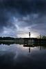 True Story (iwona_podlasinska) Tags: lake clouds child dramatic refletion