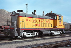 Yard Goat at Top End (jamesbelmont) Tags: emd sw7 switcher saltlakecity utah northyard topend unionpacific