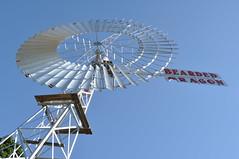 24-foot Intercolonial Boring Company (IBC) Totally Enclosed Simplex Windmill; The Bearded Dragon Hotel, Tamborine, QLD, Australia (sarracenia.flava) Tags: intercolonial boring company ibc totally enclosed simplex windmill australia queensland gold coast hinterland tamborine the bearded dragon
