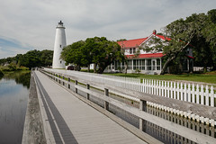 Ocracoke Lighthouse (robdunbar) Tags: ocracoke lighthouse canon obx outerbanks northcarolina island hatteras ferry historical seashore beach ocean