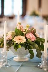 Weddings Flower Arrangements : Simple floral centerpiece (flowersdottn) Tags: flowers