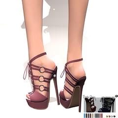 LuceMia - SlackGirl (2018 SAFAS AWARD WINNER - Favorite Blogger - MISS ) Tags: slackgirl shoes sl secondlife mesh fashion creations blog beauty hud colors models lucemia