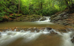 The Roaring Waters of Tucquan Glen (Radical Retinoscopy) Tags: tucquanglen tucquan rapids polarizer longexposure hdr lancaster lancastercounty pa summer forest flowing stream rain