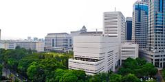 Kompleks BI (Ya, saya inBaliTimur (leaving)) Tags: jakarta building gedung architecture arsitektur office kantor