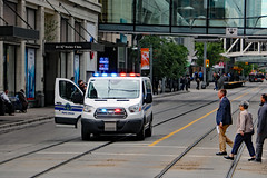 Police takedown 4 of 4 (job done...) (Can Pac Swire (away for a bit)) Tags: calgary downtown city centre center alberta canada canadian police peace officer action arrest car van emergency vehicle 2017aimg0793