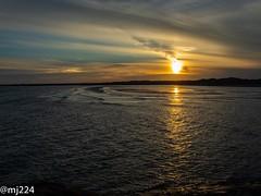 Sunset Burry Port (dudutrois) Tags: burryport