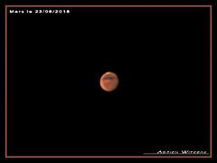 Mars (Adrien Witczak) Tags: adrienwitczak astrophotographie systèmesolaire espace ciel planète mars asi120mc heq5