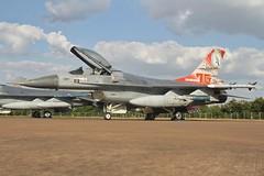 (scobie56) Tags: general dynamics f16am fighting falcon j879 322squadron leeuwarden royal netherlands air force dutch riat 2018 international tattoo fairford