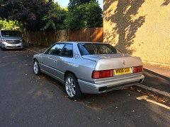 Abandoned and neglected 😢 rare exotic 1994 Maserati Ghibli Cup 2Litre V6 Twin Turbo & 6Speed Manual gearbox 😢 (mangopulp2008) Tags: abandoned neglected 😢 rare exotic 1994 maserati ghibli cup 2litre v6 twin turbo 6speed manual gearbox