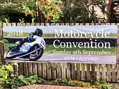 Motorcycle Convention - Alford Aberdeenshire Scotland - 9/9/18 (DanoAberdeen) Tags: gtmalford vintage classic alford grampiantransportmuseum museum racers scooters triumph bmw vincent bikers biker motorcycle gala fair show festival 2018 candid amateur danoaberdeen aberdeenshire motorbike suzuki kawasaki rare new restoration customised scotland scotch scottish 2bike davidson aprilla enfield norton victory sporster motorcyclist triples tt f1 bike convention oldtimer honda bsa ducati harley geotagged badge logo motto championship racer racing streetbike offroad autumn winter summer spring bikerlife superbike motography transport goldwing gathering gtm scooter moped trike reunion
