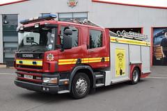 Humberside - YJ53KHB - Training School (matthewleggott) Tags: humberside fire rescue service engine appliance scania jdc john dennis yj53khb training immingham west
