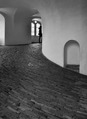 Round Tower, Copenhagen (jhotopf) Tags: roundtower blancoynegro noiretblanc nikon d810 denmark copenhagen blackwhite