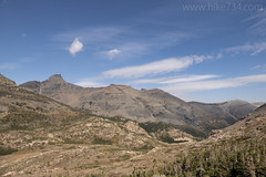 Bearhead Mountain and Dancing Lady from Firebrand Pass Trail (hike734) Tags: