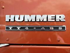 578 Hummer Badge - Brief History (robertknight16) Tags: hummer usa badge badges automobilia gm amg brooklands