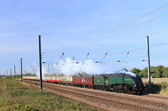 60009 Great Paxton (NB Railways) Tags: 60009 a4 a4pacific 1z60 ecml cambridgeshire greatpaxton england steamlocomotive a460009 thetalisman