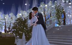 ѕσ ςℓσѕє тσ яєαςнιиg тнαт fαмσυѕ нαρρу єи∂ ♡ (Joy Ricci Osbourne) Tags: secondlife wedding love soclose garden photo